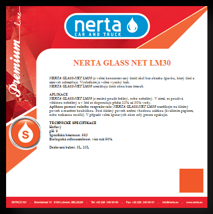 Nerta Glass net LM30