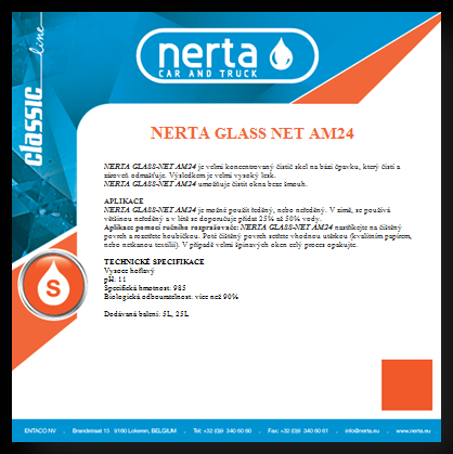 Nerta Glass net AM24